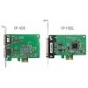 RS-232 PCI Express, Low Profile, 2 porti, + DB9M kaabel