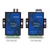 Konverter RS-232/422/485 > Single Mode SC, -40 kuni 75°C