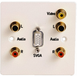 Seinapesa: VGA, 2x Audio, RCA Video