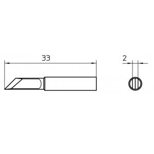 Kolviots XNT KN nuga 2,0mm
