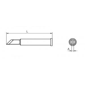 XT-KN kolviots nuga 2,0mm WSP-120