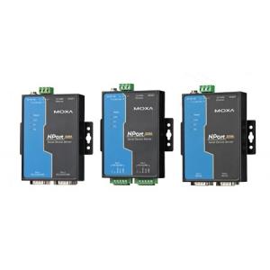 RS-422/485 server, 2 port, 0 kuni 60°C, serial/LAN/toite ülepingekaitse, madal voolutarve - 1 W