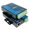 RS-422/485 server, 2 port, -40 kuni 75°C, serial/LAN/toite ülepingekaitse, madal voolutarve - 1 W