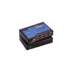 RS-232/422/485 device server, 8 x DB9M porti, 12-48VDC toide, opt. Isol. 2KV