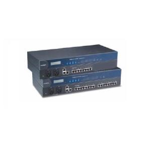 Serial seadmete server, RS-232/422/485 x 8 porti, 2 x LAN, 2 x AC toitesisend, -40 kuni 75°C