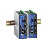 Arvuti: 4 x serial porti, DIO, 2 x LAN, VGA, Compact-Flash, USB, Linux OS, -10 kuni 60°C
