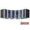 IEC 61850-3 switch DIN-liistule: 8 x 10/100BaseT(X), 2 x 100BaseFX multi-mode ST, 1 x toiteplokk 48 VDC, -40 kuni 85°C