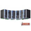 IEC 61850-3 switch DIN-liistule: 8 x 10/100BaseT(X), 2 x 100BaseFX single-mode LC, 1 x toiteplokk 24 VDC, -40 kuni 85°C
