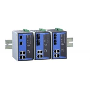 Switch: 4 x 10/100BaseT(X) PoE, 2 x 100BaseFX multi-mode (SC), -40 kuni 75°C