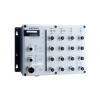 Switch: 8 x 10/100BaseT(X), 8 x PoE, M12 pesad, 2 x toiteplokk 24 ja 48VDC, -40 kuni 75°C