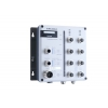 Switch: 8 x 10/100BaseT(X), 2 x 10/100/1000BaseT(X), M12 pesad, 2 x toiteplokk 12/24/36/48 VDC ja 88-300 VDC või 85-264 VAC, -40