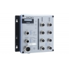 Switch: 8 x 10/100BaseT(X), M12 pesad, 2 x toiteplokk 12/24/36/48 VDC ja 88-300 VDC või 85-264 VAC, -40 kuni 75°C