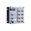 Switch: 8 x 10/100BaseT(X), M12 pesad, 2 x toiteplokk 12/24/36/48 VDC ja 72/96/110 VDC, -40 kuni 75°C