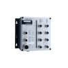 Switch: 4 x 10/100BaseT(X), 4 x PoE, M12 pesad, 24 VDC toide, -40 kuni 75°C