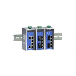 Switch: 4 x PoE, 2 x 100BaseFX multi-mode ST, 0 kuni 60°C, mittemanageeritav