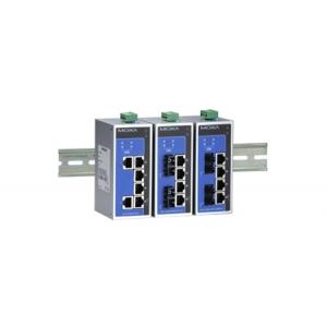 Switch: 4 x PoE, 2 x 100BaseFX single-mode SC, 0 kuni 60°C, mittemanageeritav