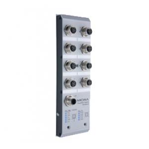 Switch:  8 x 10/100BaseT(X), M12 pesadega, 7 ~ 60 VDC VDC toide, -40 kuni 75°C, mittemanageeritav