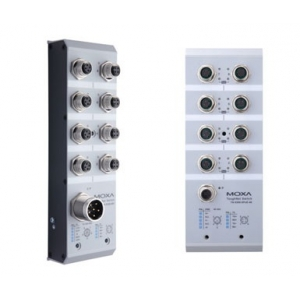 Switch: 8 x PoE, M12 pesadega, 0 kuni 60°C, mittemanageeritav