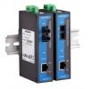 Tööstuslik konverter: 10/100BaseT(X) to 100BaseFX, single mode, SC, -40 kuni 75°C