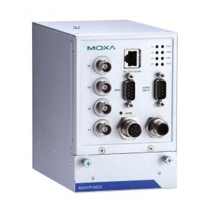 Tööstuslik videosalvesti, 4 kanaliga, 1 x SATA pesa, M12 Ethernet, 0 kuni 60°C