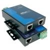 RS-232 server, 2 port, -40 kuni 75°C, serial/LAN/toite ülepingekaitse, madal voolutarve - 1 W