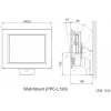 Wall Mount for PPC-L126T/PPC-L127T