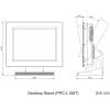 Desktop Stand, Black, PPC-S15X