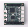 USB 2.0/IEEE 1394a PC/104-Plus Module
