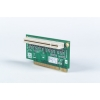 "1-Slot PCI Riser Card for 5.25"" Biscuit SBCs"