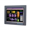 "12.1"" Industrial Monitor with Resistive Touchscreen, Direct-VGA, DVI and Wide Operating Temperature"