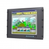 "17"" SXGA Industrial Monitor with Resistive Touchscreen, Direct-VGA and DVI Ports"