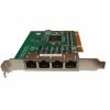 4-port RS-232 UNI PCI COMM card w/RJ45