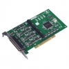 4-port RS-232 Uni PCI Communication Card, Isolation/EFT, 4 x DB25