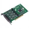 4-port RS-232 Uni PCI Communication Card, Isolation/EFT, 4 x DB9