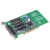4-port RS-232/422/485 UNI PCI COMM card w/SI&DB25