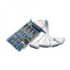 4-port RS-232/422/485 Communication Card, DB9M x 4