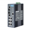 6Gx+2 Combo Managed Ethernet Switch with Wide Temperature DIN