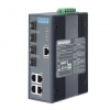 4Gx+4SFP Managed Ethernet Switch with Wide Temperature DIN