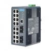 16+2 MM SC Type Fiber Optic Managed Industrial Ethernet Switch with Wide Temperature DIN