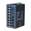 16 10/100 +2G Combo Port Gigabit Managed Redundant Industrial Ethernet Switch DIN