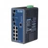 8 10/100 +2G Combo Port Gigabit Managed Redundant Industrial Ethernet Switch DIN