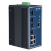 4G+4 SFP Gigabit Managed Redundant Industrial Ethernet Switch DIN