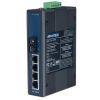 4+1 100FX SC Port Multi-mode Unmanaged Industrial Ethernet Switch DIN