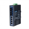 4+2 100FX Port Single Mode Unmanaged Industrial Ethernet Switch DIN