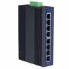 8-port Unmanaged Industrial Ethernet Switch DIN