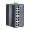 16-port Unmanaged Industrial Ethernet Switch with Wide Temperature DIN