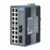 16+2 SC Type Fiber Optic Unmanaged Industrial Ethernet Switch with Wide Temperature DIN