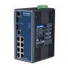8+2G Combo Port Gigabit Unmanaged Industrial Ethernet Switch w/ Wide Temp / / 8 x RJ45 + 2 x RJ-45/SFP combo ports DIN