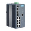 8+2G Port Gigabit Managed Redundant Industrial PoE Switch with Wide Temperature