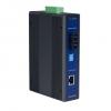 10/100TX to Multi-Mode SC Type Fiber Optic Industrial Media Converter, -40 ~ 75°C